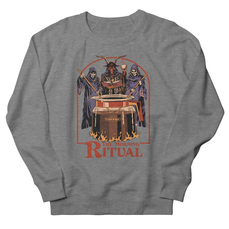 The Morning Ritual Men's French Terry Sweatshirt by Steven Rhodes