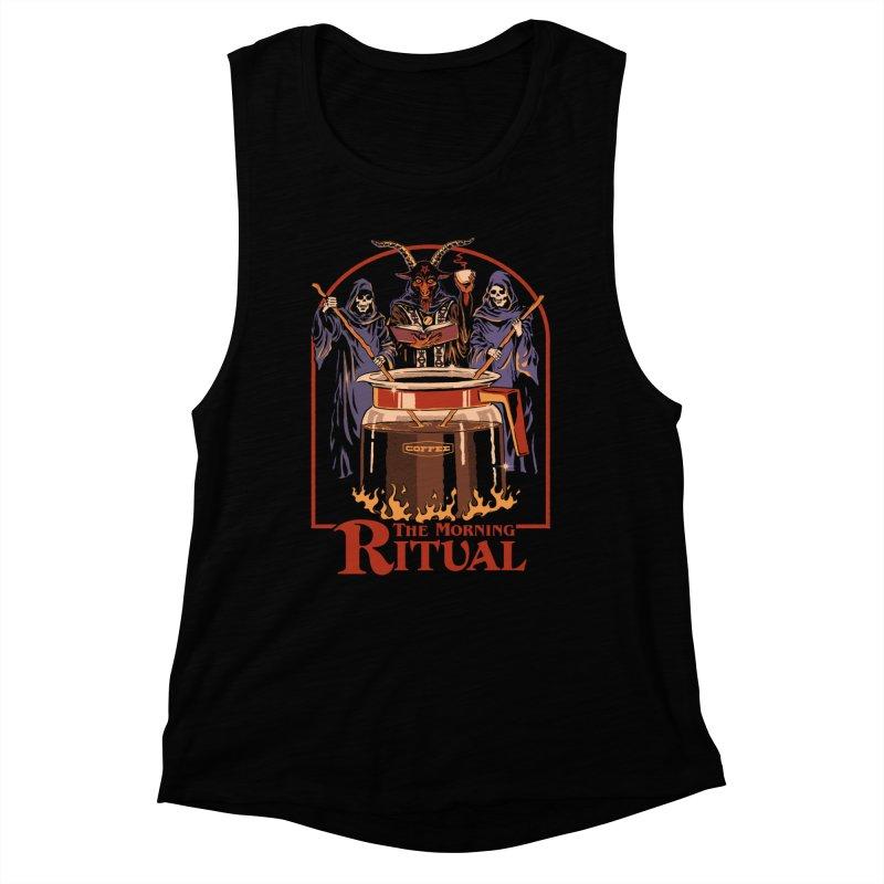The Morning Ritual Women's Muscle Tank by Steven Rhodes
