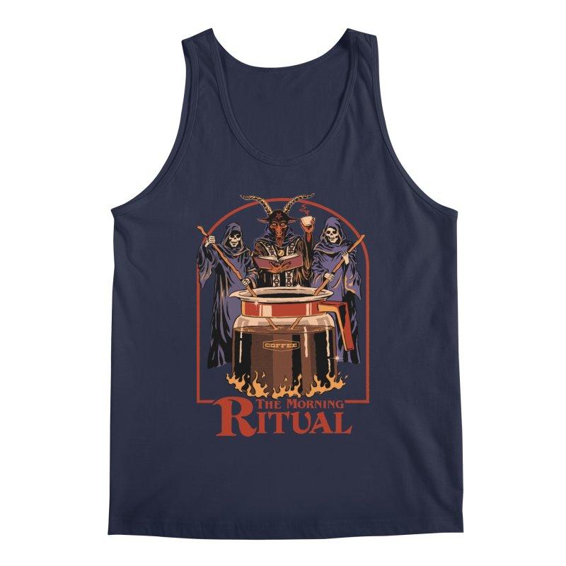 The Morning Ritual Men's Regular Tank by Steven Rhodes