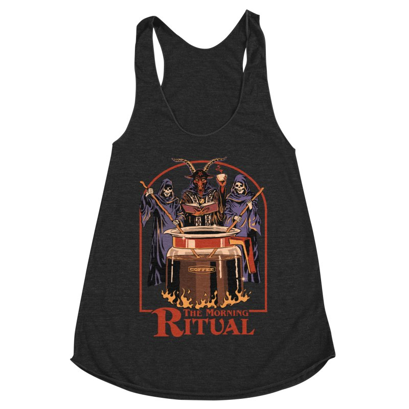 The Morning Ritual Women's Racerback Triblend Tank by Steven Rhodes
