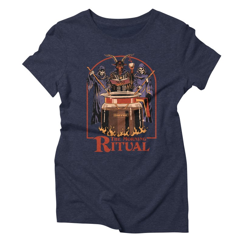 The Morning Ritual Women's Triblend T-Shirt by Steven Rhodes
