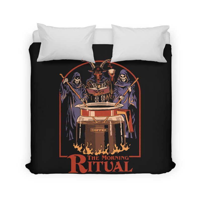 The Morning Ritual Home Duvet by Steven Rhodes