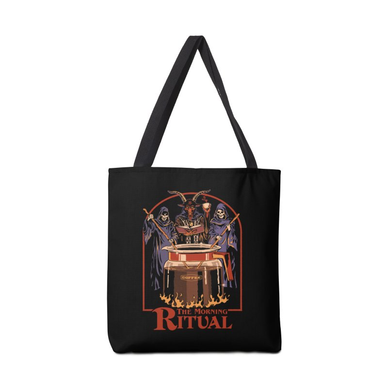 The Morning Ritual Accessories Tote Bag Bag by Steven Rhodes
