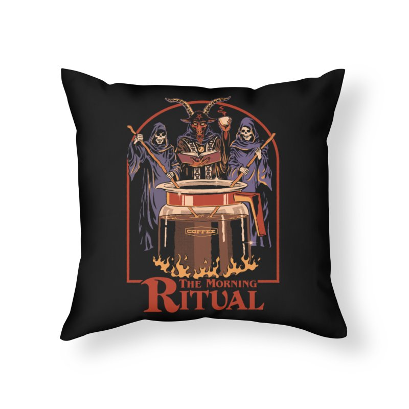 The Morning Ritual Home Throw Pillow by Steven Rhodes