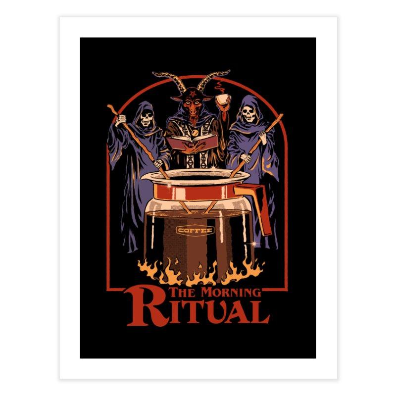The Morning Ritual Home Fine Art Print by Steven Rhodes
