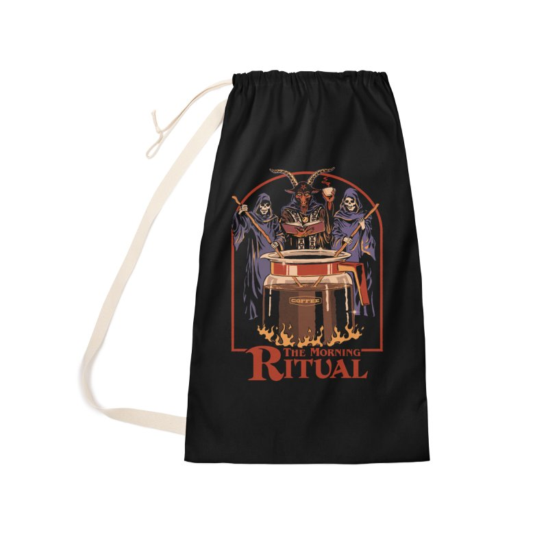 The Morning Ritual Accessories Laundry Bag Bag by Steven Rhodes