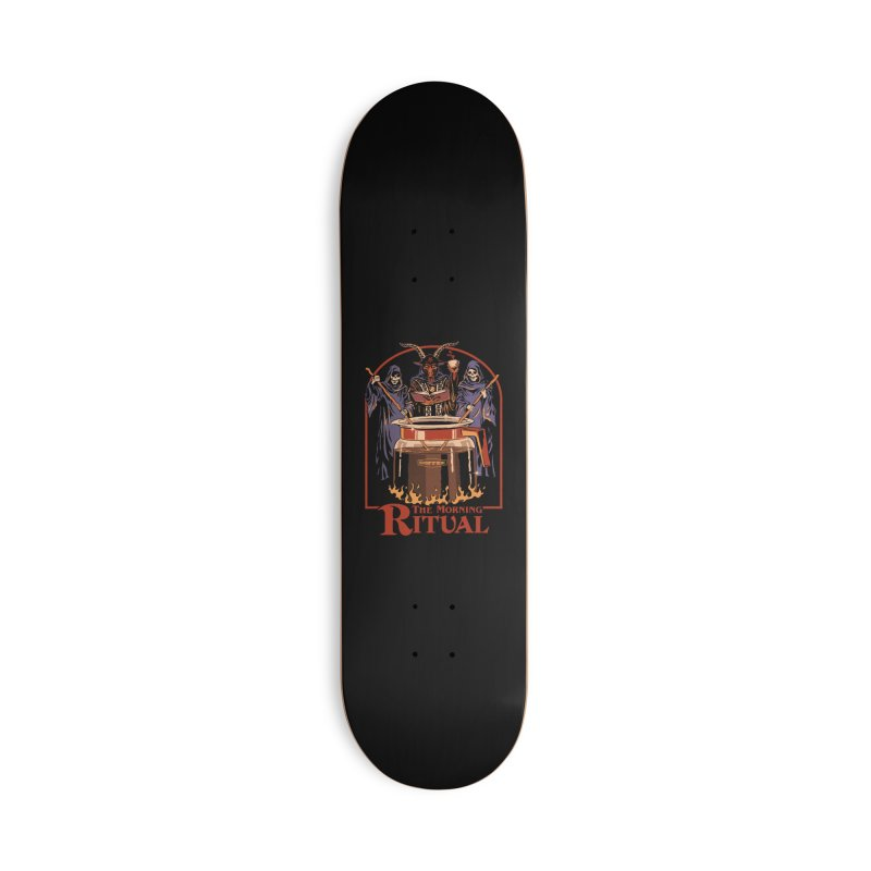The Morning Ritual Accessories Deck Only Skateboard by Steven Rhodes