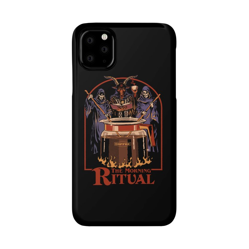 The Morning Ritual Accessories Phone Case by Steven Rhodes