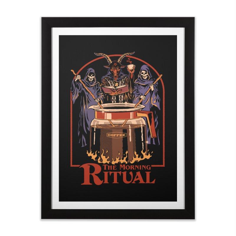 The Morning Ritual Home Framed Fine Art Print by Steven Rhodes
