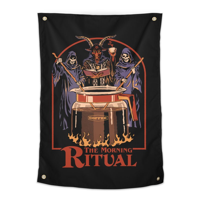 The Morning Ritual Home Tapestry by Steven Rhodes