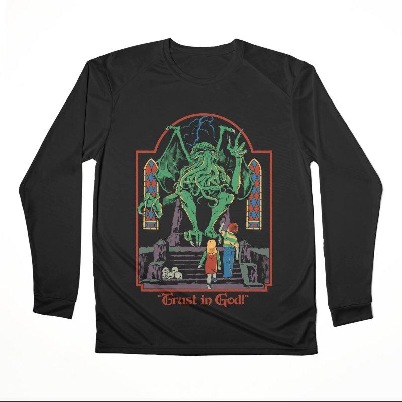 Trust in God Women's Performance Unisex Longsleeve T-Shirt by Steven Rhodes