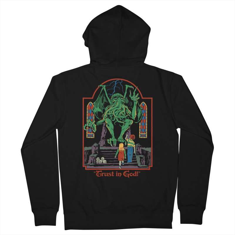 Trust in God Men's French Terry Zip-Up Hoody by Steven Rhodes