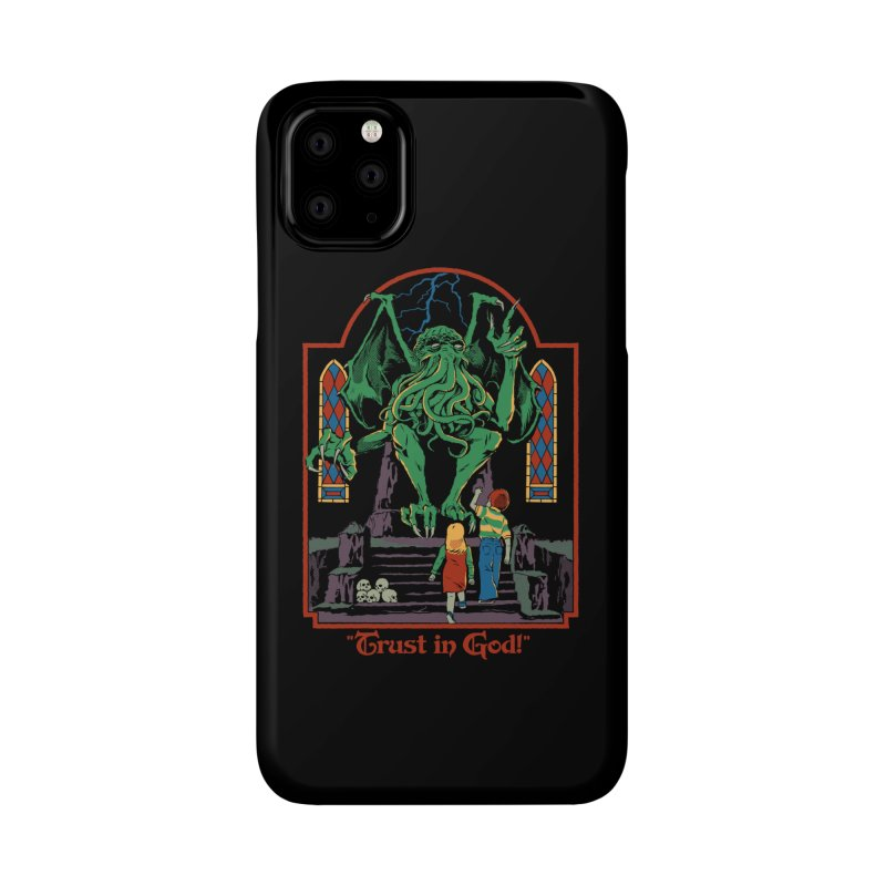 Trust in God Accessories Phone Case by Steven Rhodes