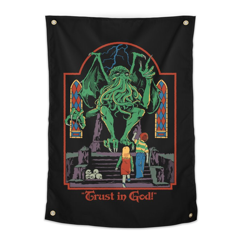 Trust in God Home Tapestry by Steven Rhodes
