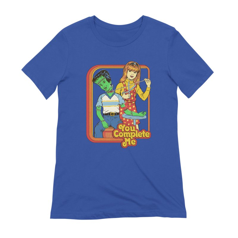 You Complete Me Women's Extra Soft T-Shirt by Steven Rhodes