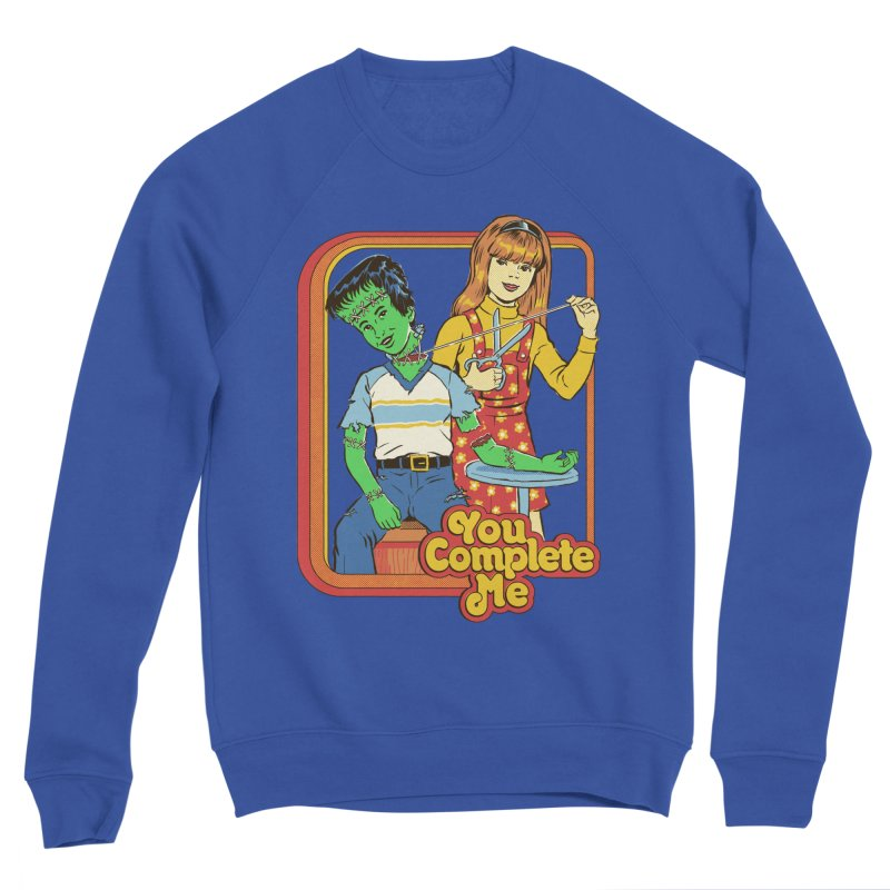 You Complete Me Men's Sponge Fleece Sweatshirt by Steven Rhodes