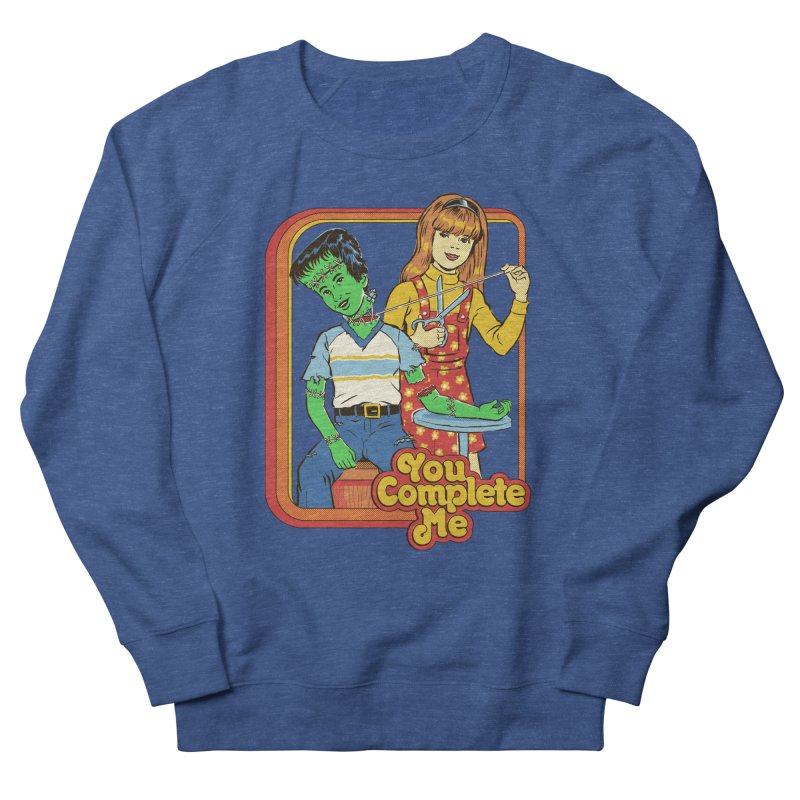 You Complete Me Women's French Terry Sweatshirt by Steven Rhodes