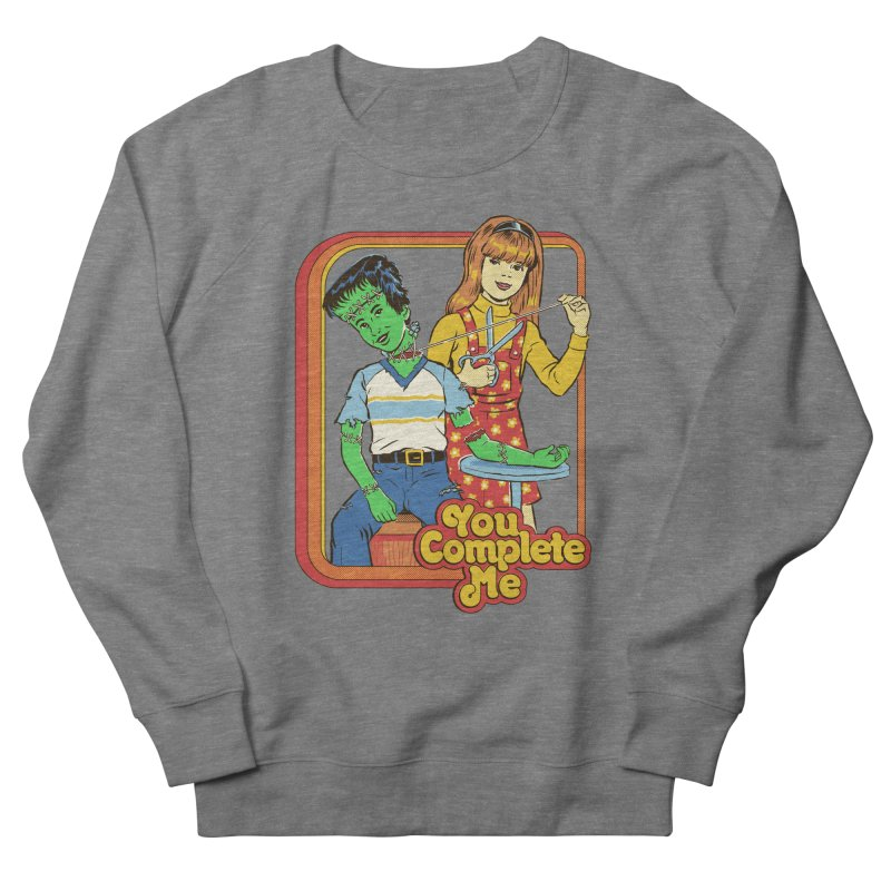 You Complete Me Men's French Terry Sweatshirt by Steven Rhodes
