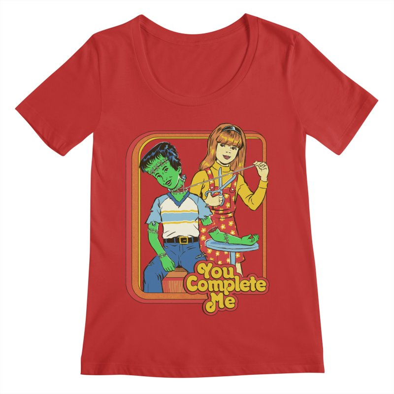 You Complete Me Women's Regular Scoop Neck by Steven Rhodes