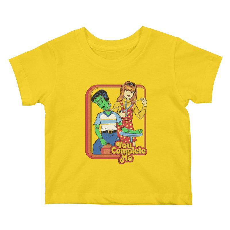You Complete Me Kids Baby T-Shirt by Steven Rhodes