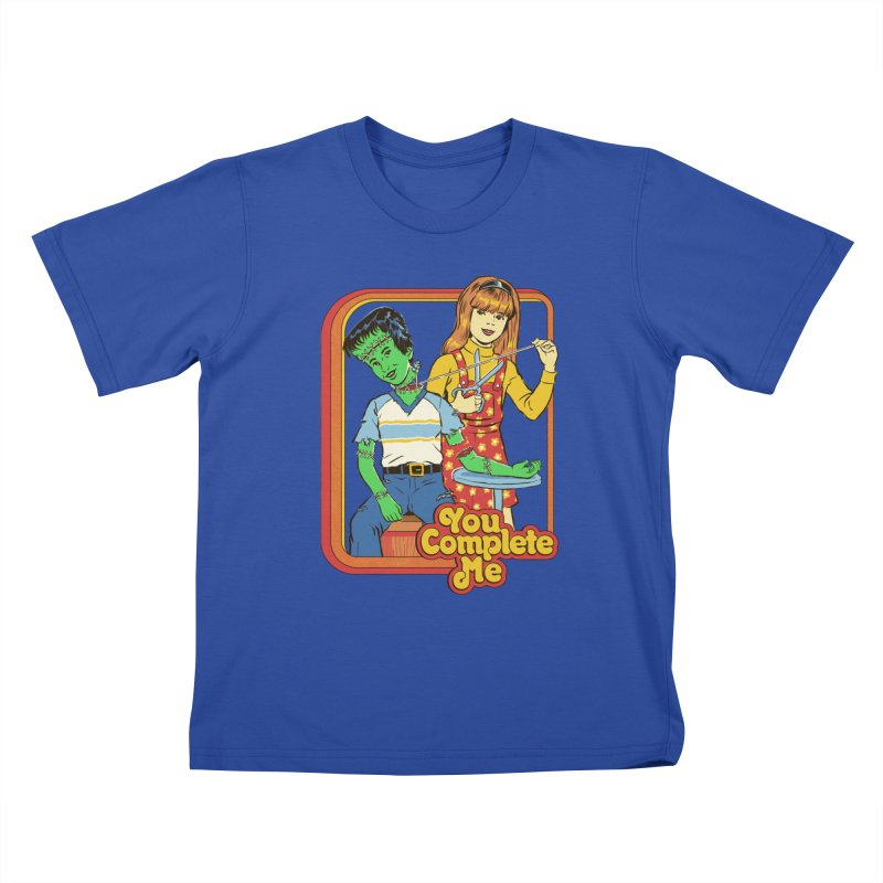 You Complete Me Kids T-Shirt by Steven Rhodes