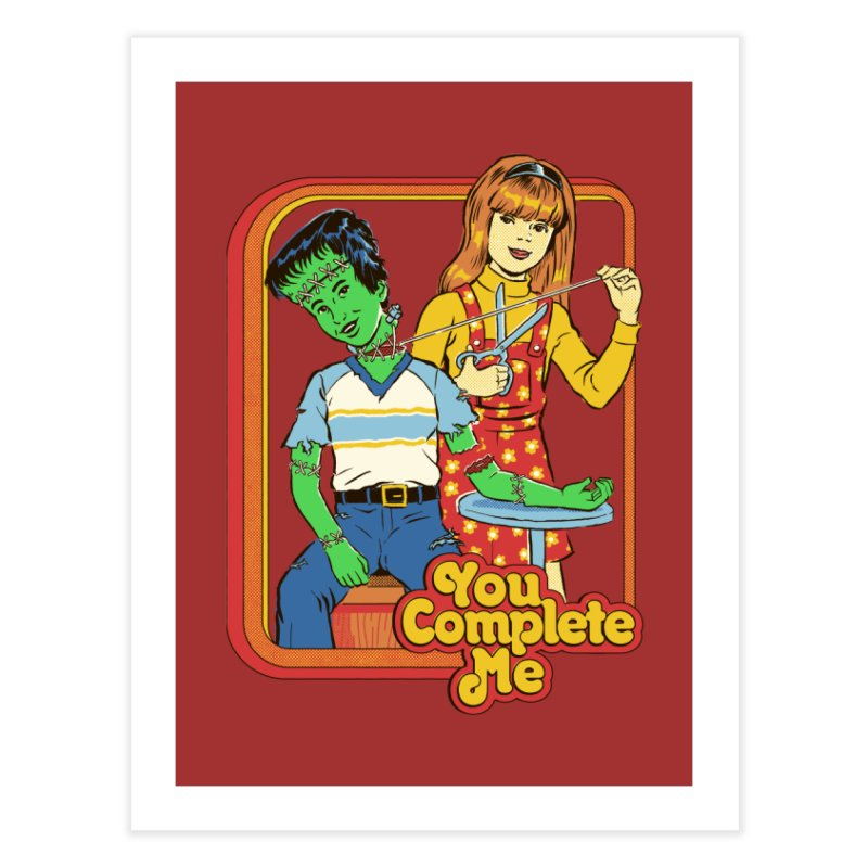 You Complete Me Home Fine Art Print by Steven Rhodes