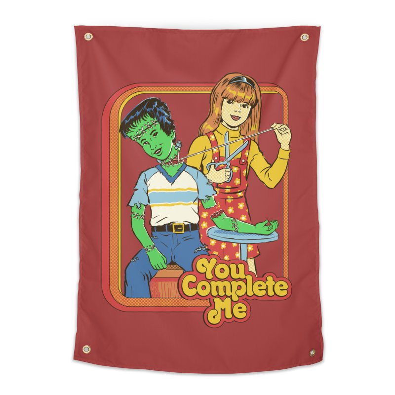 You Complete Me Home Tapestry by Steven Rhodes