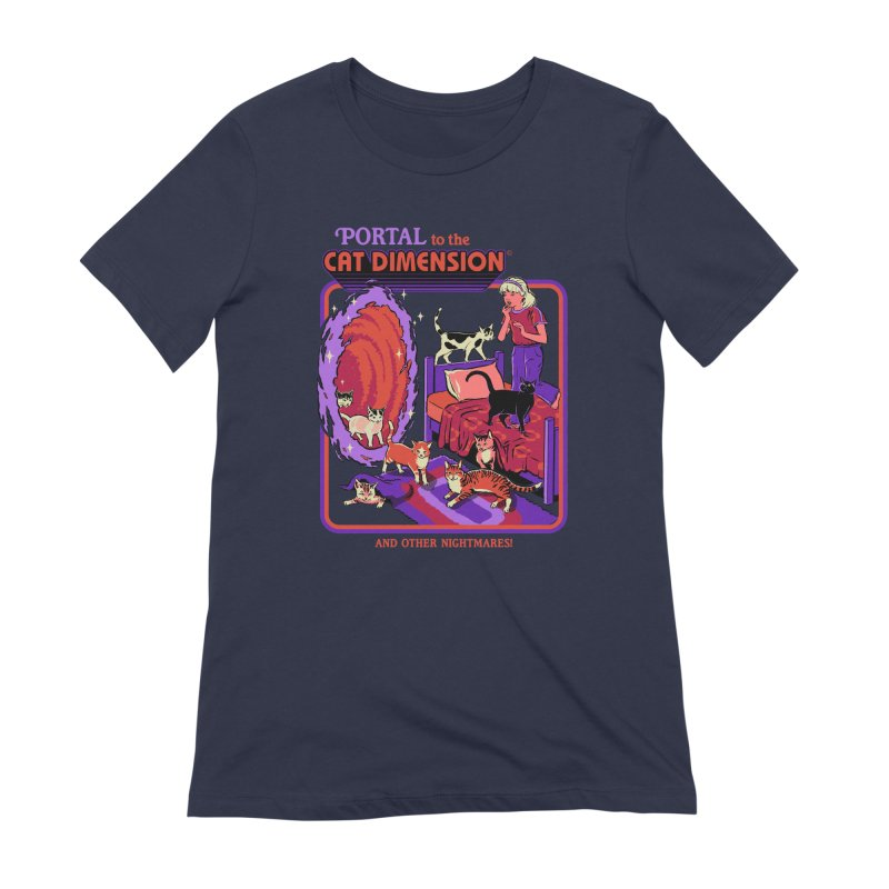 The Cat Dimension Women's Extra Soft T-Shirt by Steven Rhodes