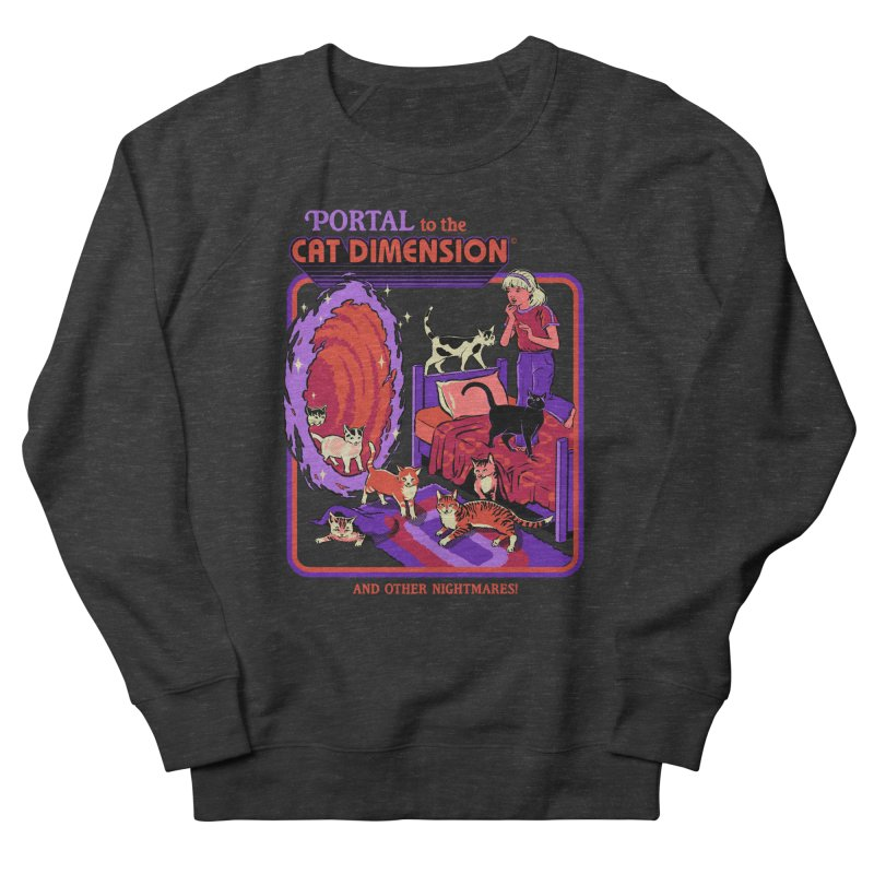 The Cat Dimension Women's French Terry Sweatshirt by Steven Rhodes