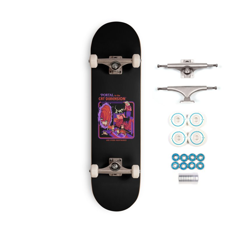 The Cat Dimension Accessories Complete - Basic Skateboard by Steven Rhodes