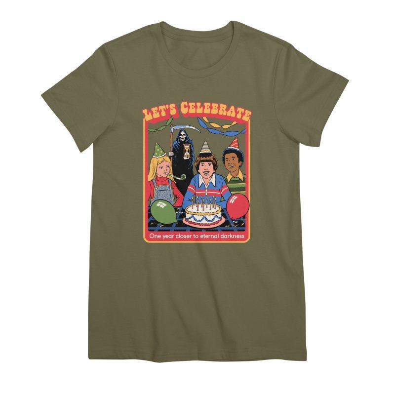 One Year Closer Women's Premium T-Shirt by Steven Rhodes