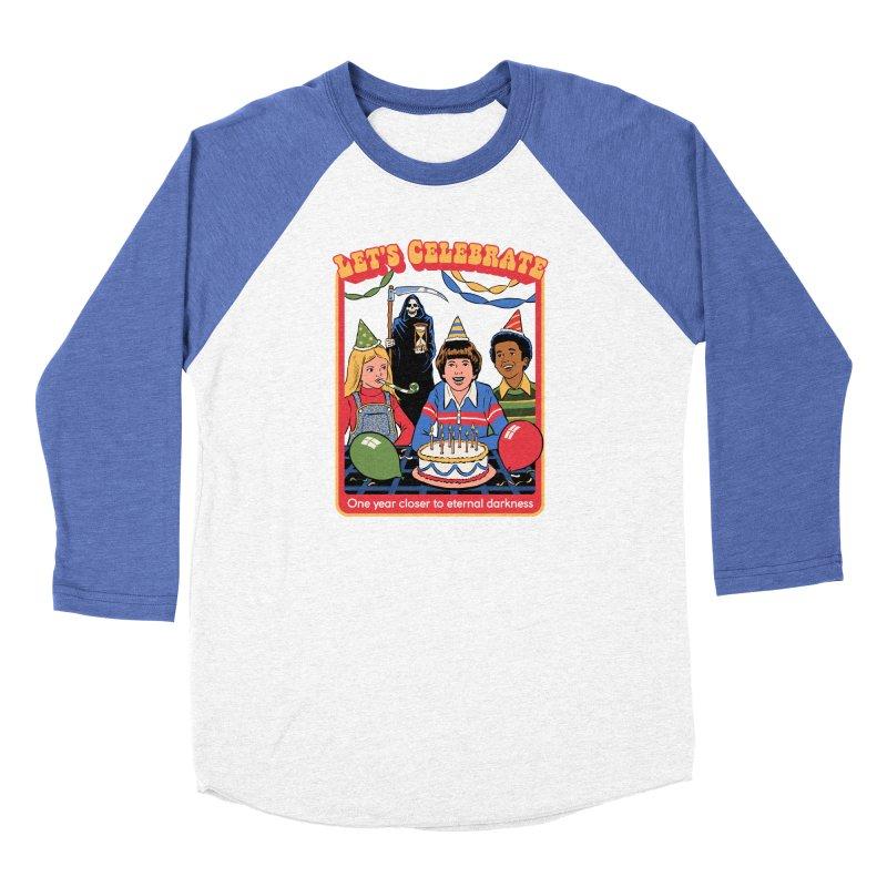One Year Closer Women's Baseball Triblend Longsleeve T-Shirt by Steven Rhodes