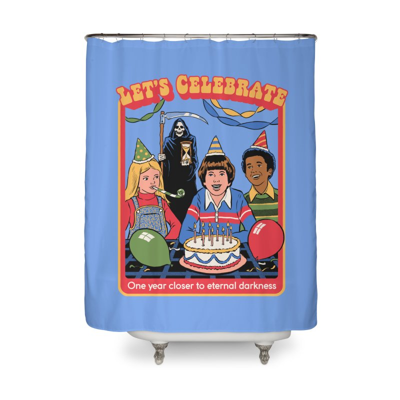 One Year Closer Home Shower Curtain by Steven Rhodes