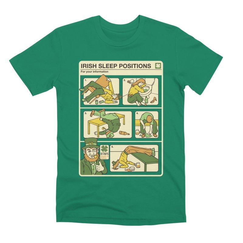 Sleep Positions Men's Premium T-Shirt by Steven Rhodes