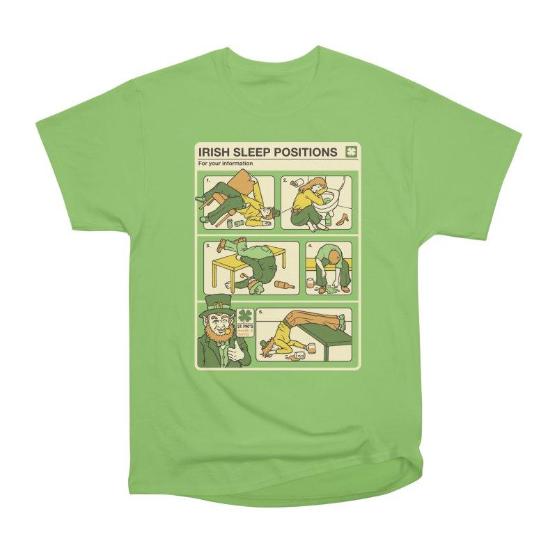 Sleep Positions Women's Heavyweight Unisex T-Shirt by Steven Rhodes
