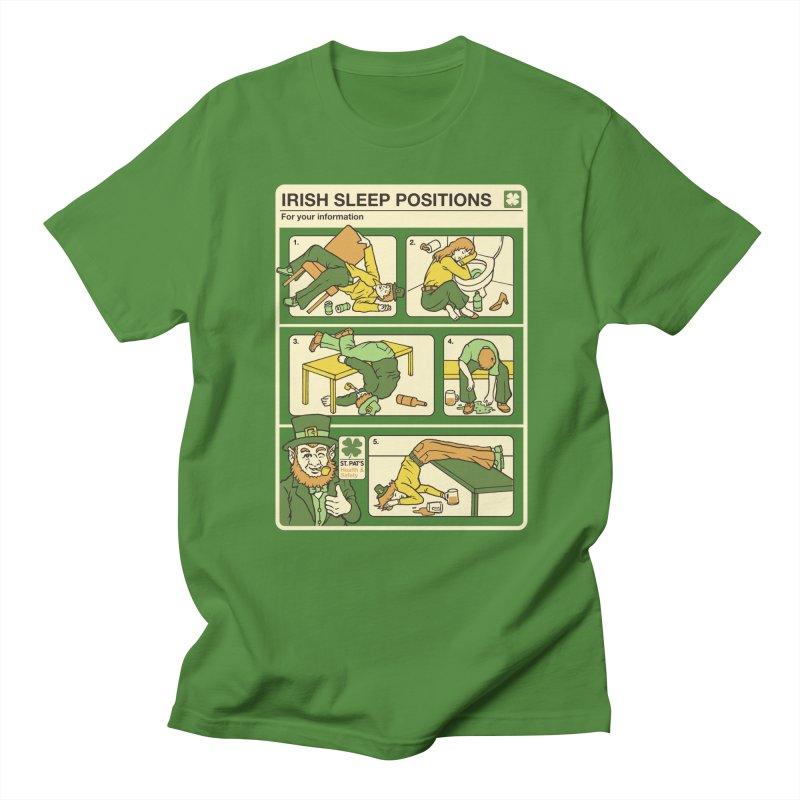 Sleep Positions Women's Regular Unisex T-Shirt by Steven Rhodes