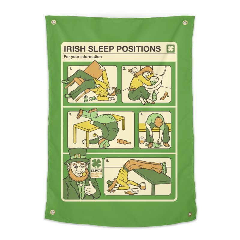 Sleep Positions Home Tapestry by Steven Rhodes