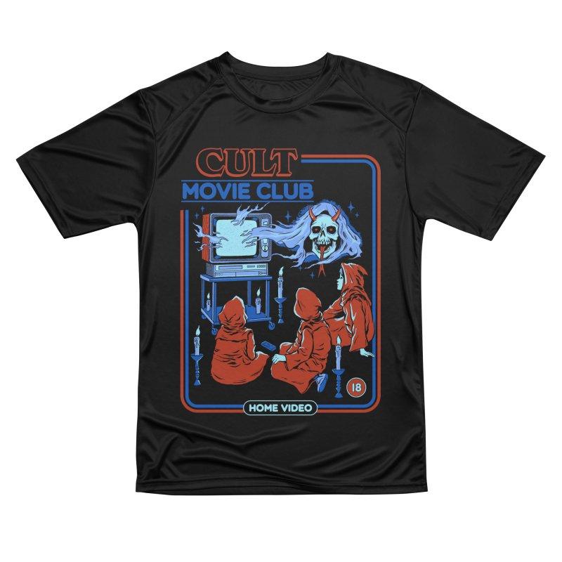 Cult Movie Club Men's Performance T-Shirt by Steven Rhodes