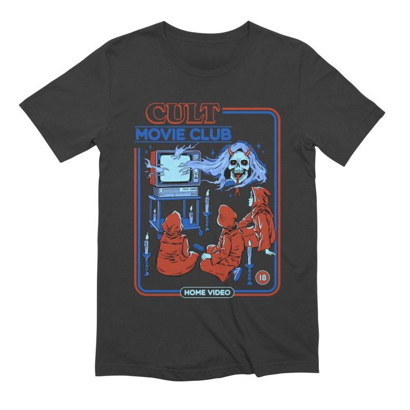 Cult Movie Club Men's Extra Soft T-Shirt by Steven Rhodes