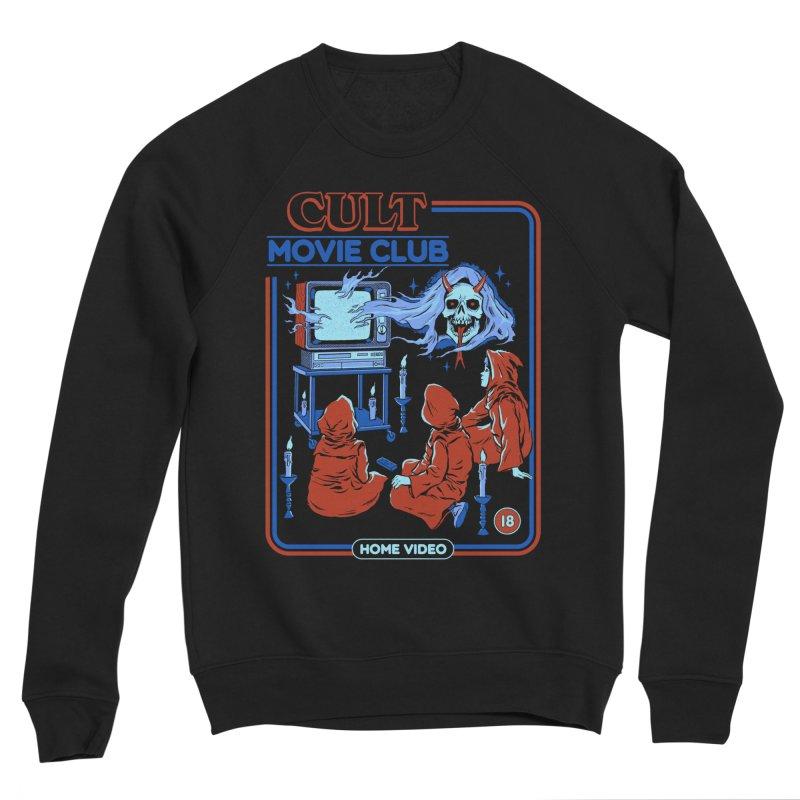 Cult Movie Club Women's Sponge Fleece Sweatshirt by Steven Rhodes
