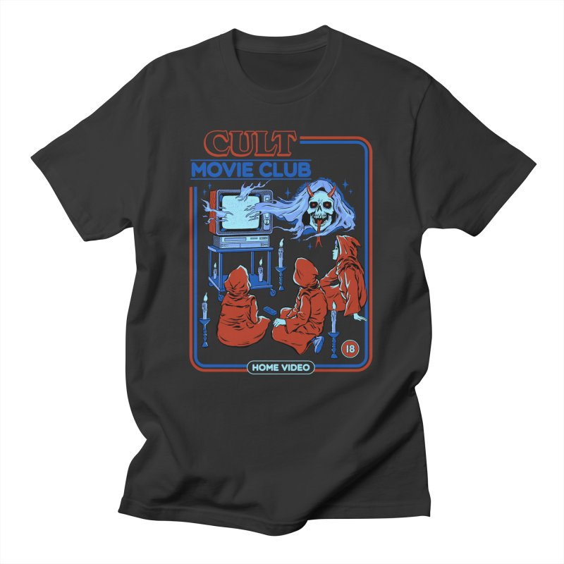Cult Movie Club Men's T-Shirt by Steven Rhodes