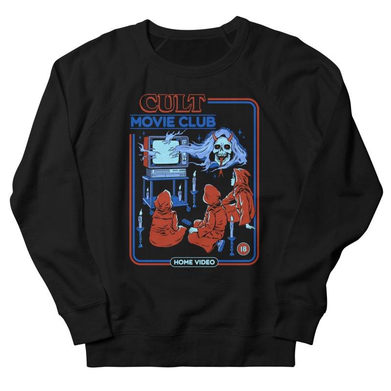 Cult Movie Club Women's French Terry Sweatshirt by Steven Rhodes