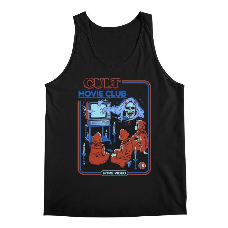 Cult Movie Club Men's Regular Tank by Steven Rhodes