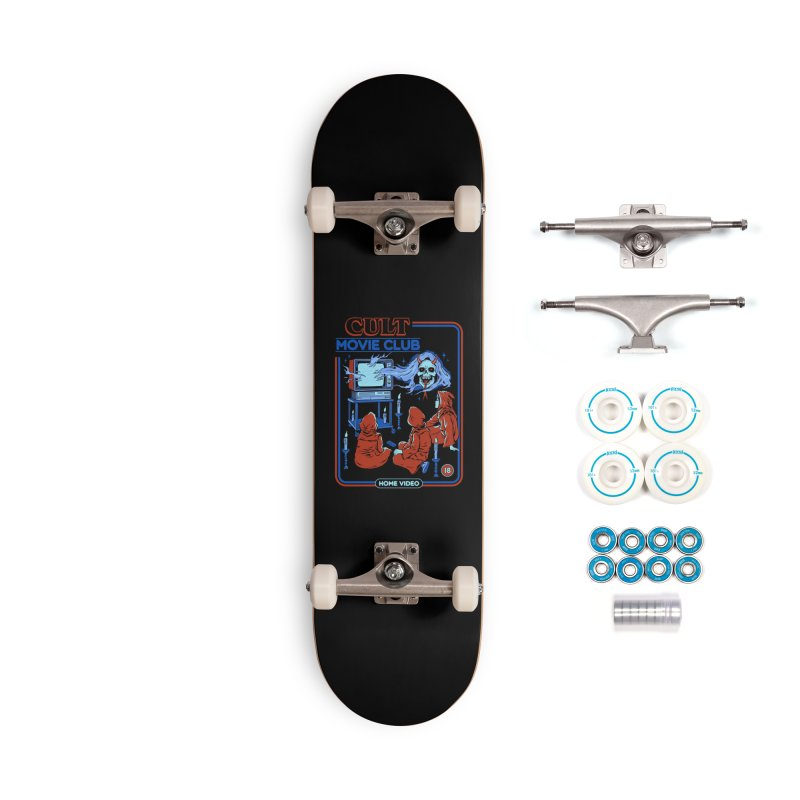 Cult Movie Club Accessories Complete - Basic Skateboard by Steven Rhodes
