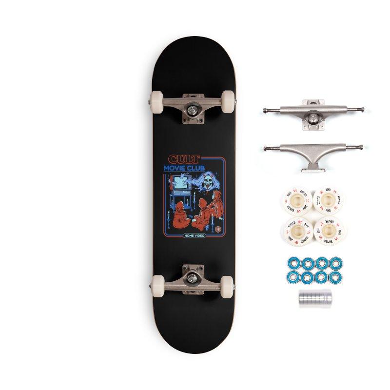 Cult Movie Club Accessories Complete - Premium Skateboard by Steven Rhodes