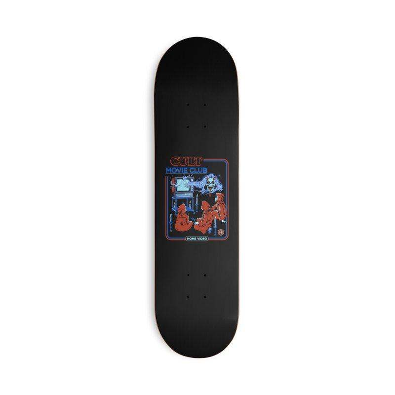 Cult Movie Club Accessories Deck Only Skateboard by Steven Rhodes