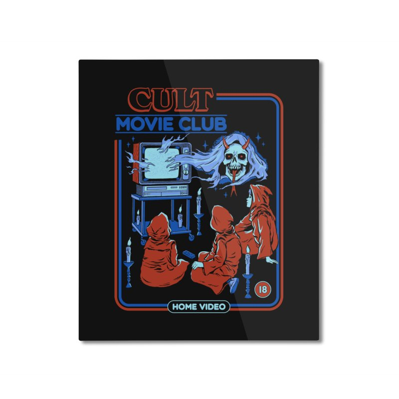 Cult Movie Club Home Mounted Aluminum Print by Steven Rhodes
