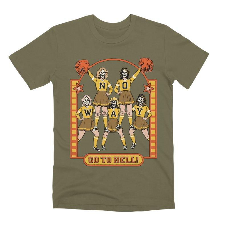 Go To Hell! Men's Premium T-Shirt by Steven Rhodes