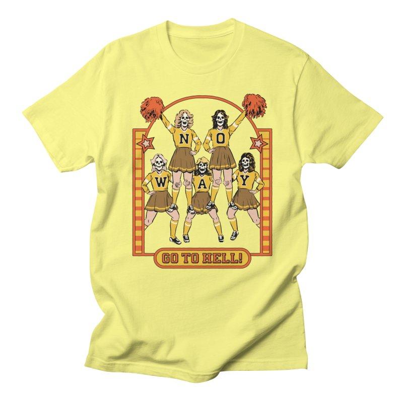 Go To Hell! Men's Regular T-Shirt by Steven Rhodes