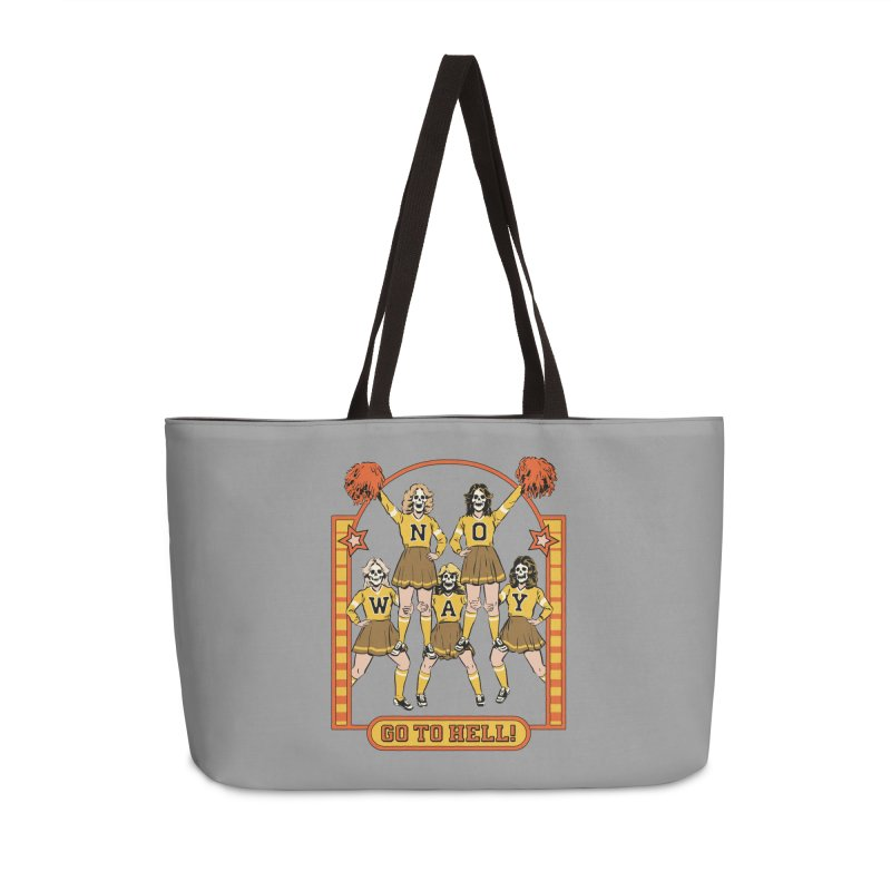 Go To Hell! Accessories Weekender Bag Bag by Steven Rhodes